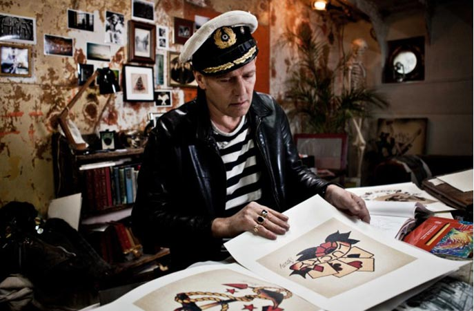 sailor jerry, paul simonon,